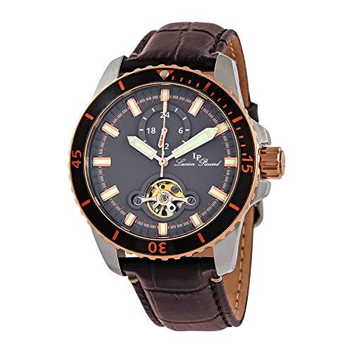 【限定品】 腕時計 ルシアンピカール メンズ 【送料無料】Lucien Piccard Automatic Grey Dial Men's Watch 1298A5腕時計 ルシアンピカール メンズ, 快適空間のお手伝い B&C 9075172e