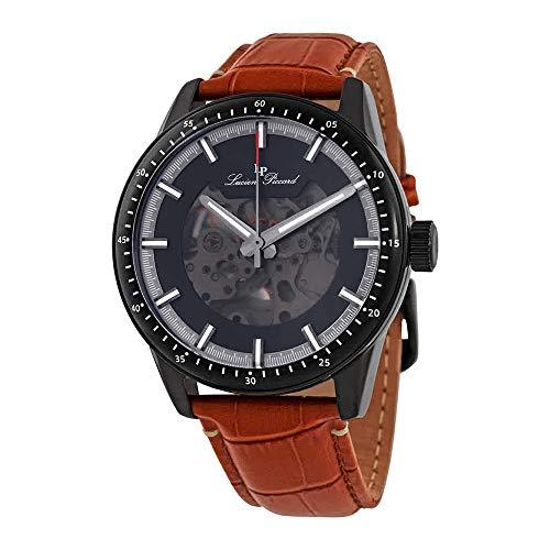 ルシアンピカール 腕時計 メンズ 【送料無料】Lucien Piccard Automatic Black Dial Men's Watch 1297A7ルシアンピカール 腕時計 メンズ