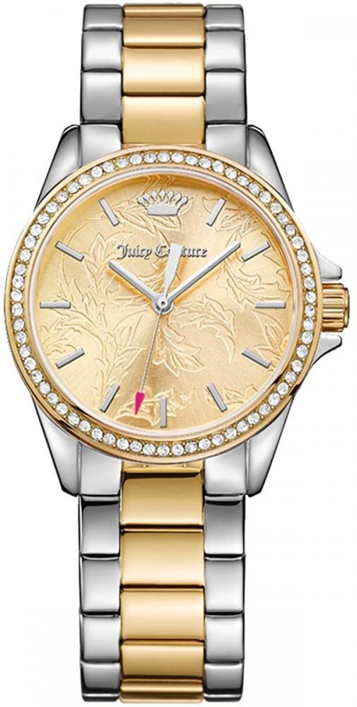 ジューシークチュール レディース 【送料無料】Juicy Couture Women's Laguna Quartz Watch with Stainless-Steel Strap, Two Tone, 17 (Model: 1901521)ジューシークチュール レディース