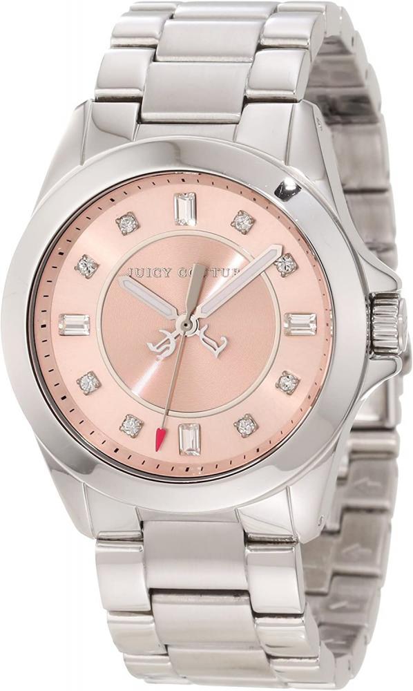 人気が高い 腕時計 ジューシークチュール レディース 【送料無料】Juicy Couture Women's 1901034 Stella Mini Stainless Steel Bracelet Watch腕時計 ジューシークチュール レディース, サクラシ 98c8300a