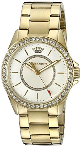ジューシークチュール レディース 【送料無料】Juicy Couture Women's 'Laguna' Quartz Gold-Tone and Plated Casual Watch(Model: 1901409)ジューシークチュール レディース