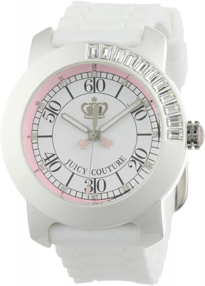 腕時計 ジューシークチュール レディース 【送料無料】Juicy Couture Women's 1900751 BFF White Jelly Strap Watch腕時計 ジューシークチュール レディース