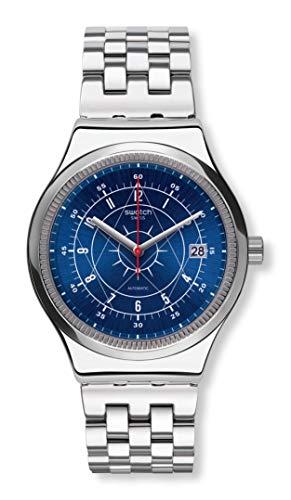 腕時計 スウォッチ レディース 夏の腕時計特集 【送料無料】Swatch Sistem51 Irony Swiss Quartz Stainless Steel Strap, Gray, 21 Casual Watch (Model: YIS401G)腕時計 スウォッチ レディース 夏の腕時計特集