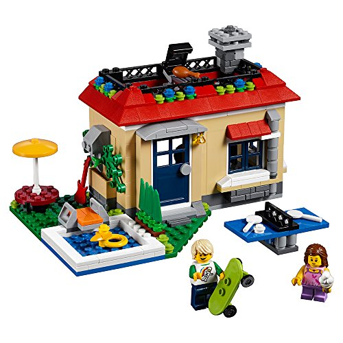 レゴ クリエイター 【送料無料】LEGO Creator Modular Poolside Holiday 31067 Building Kit (356 Piece)レゴ クリエイター