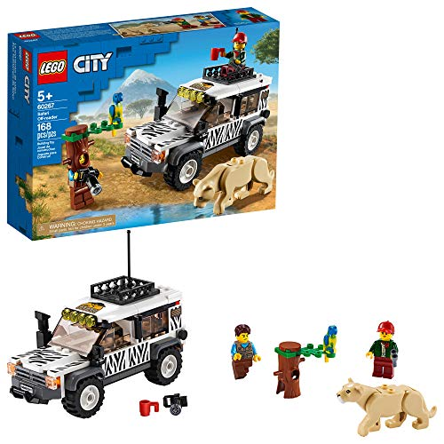 レゴ シティ 【送料無料】LEGO City Safari Off-Roader 60267 Off-Road Toy, Cool Toy for Kids, New 2020 (168 Pieces)レゴ シティ