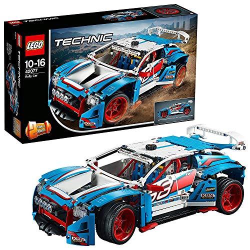 レゴ テクニックシリーズ 【送料無料】LEGO 42077 Technic Rally Car 2 in 1 Race Car-to-Buggy Model, Construction Set, Racing Vehicles Collectionレゴ テクニックシリーズ