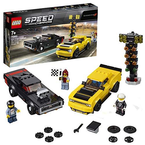 レゴ テクニックシリーズ 【送料無料】LEGO Speed 2018 Dodge Challenger SRT Demon + 1970 Dodge Charger R/T - 75893レゴ テクニックシリーズ
