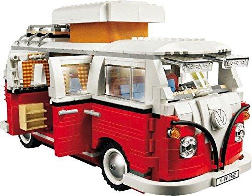 レゴ テクニックシリーズ 【送料無料】LEGO 10220 Volkswagen T1 - Camper Van Camping Bulli VW Busレゴ テクニックシリーズ