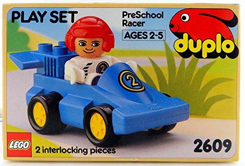 無料ラッピングでプレゼントや贈り物にも 逆輸入並行輸入送料込 レゴ デュプロ 送料無料 新品 LEGO Play Preschool 2020A/W新作送料無料 Duplo 2609 Setレゴ Racer