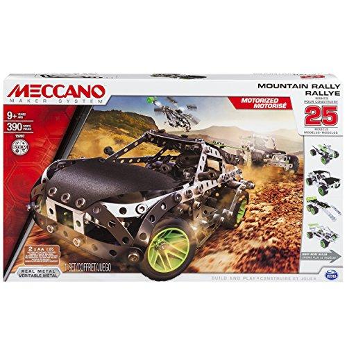アンクルミルトン 知育玩具 科学 20070362-6026397 MECCANO Erector, Motorized Mountain Rally Vehicle, 25 Model Building Set, 407 Pieces, for Ages 9+, STEM Construction Education Toyアンクルミルトン 知育玩具 科学 20070362-6026397