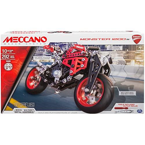 アンクルミルトン 知育玩具 科学 6027038 Meccano by Erector, Ducati Monster 1200 S Model Building Kitアンクルミルトン 知育玩具 科学 6027038