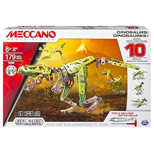 アンクルミルトン 知育玩具 科学 6035541.0 Meccano, 10 Model Set, Dinosaursアンクルミルトン 知育玩具 科学 6035541.0