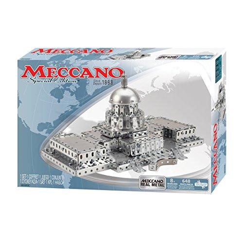 アンクルミルトン 知育玩具 科学 6024855 Meccano Special Edition Erector Set United States Capitol Buildingアンクルミルトン 知育玩具 科学 6024855