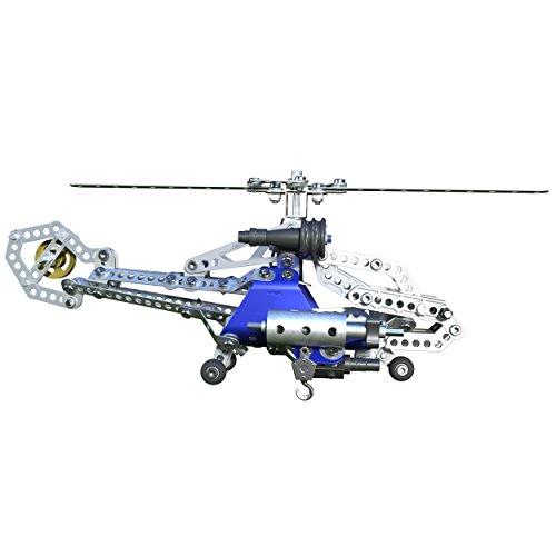 アンクルミルトン 知育玩具 科学 20068726 Meccano Tactical Copter Model Building Set, 374 Pieces, For Ages 10+, STEM Construction Education Toyアンクルミルトン 知育玩具 科学 20068726