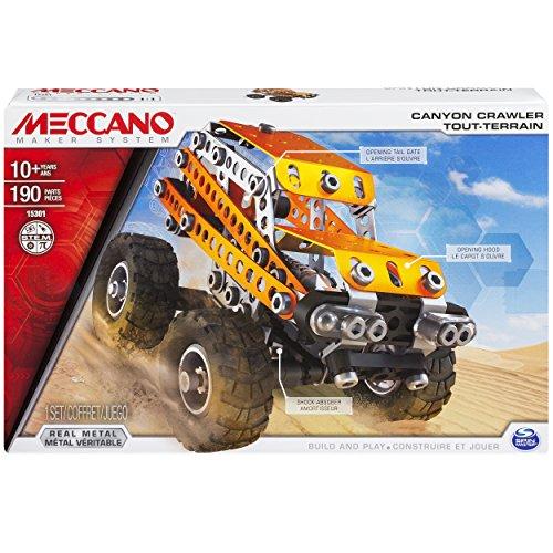 アンクルミルトン 知育玩具 科学 20070938 【送料無料】Meccano Canyon Crawler Model Building Set, 190 Pieces, For Ages 10+, STEM Construction Education Toyアンクルミルトン 知育玩具 科学 20070938