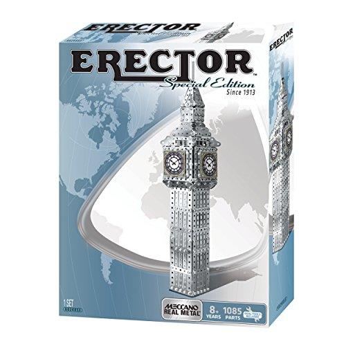 アンクルミルトン 知育玩具 科学 6024853 Meccano Erector Big Ben Building Kit (Special Edition)アンクルミルトン 知育玩具 科学 6024853
