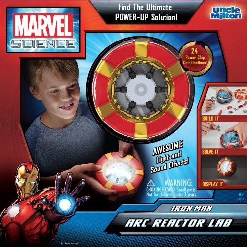 アンクルミルトン 知育玩具 科学 18011 Uncle Milton - Marvel Science - Iron Man Arc Reactor Labアンクルミルトン 知育玩具 科学 18011