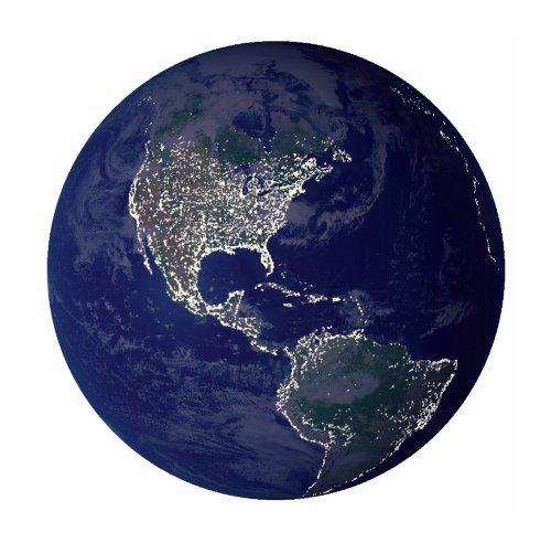アンクルミルトン 知育玩具 科学 2160 Earth In My Room Remote Control Wall D?cor Night Lightアンクルミルトン 知育玩具 科学 2160