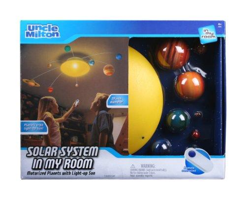 アンクルミルトン 知育玩具 科学 2055 【送料無料】Solar System In My Room Remote Control Home D?cor Night Lightアンクルミルトン 知育玩具 科学 2055