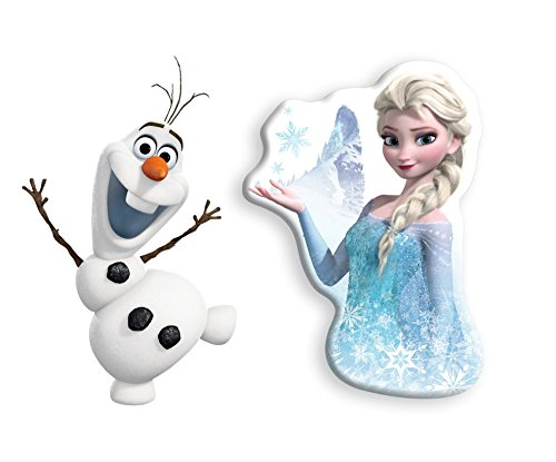 アンクルミルトン 知育玩具 科学 2527-2519 Uncle Milton Disney's Frozen Elsa and Olaf Talking Wall Night Lights with Remotes - 13