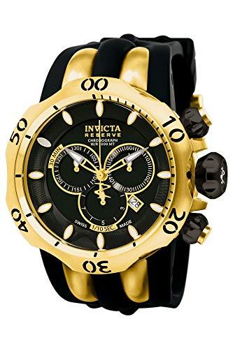 インヴィクタ インビクタ ベノム 腕時計 メンズ 10833 【送料無料】Invicta Men's 10833 Venom Reserve Chronograph Black Dial Watchインヴィクタ インビクタ ベノム 腕時計 メンズ 10833