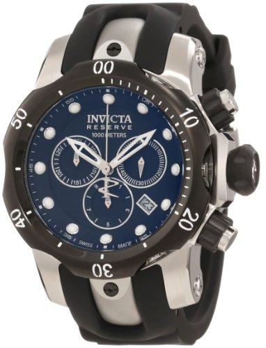 インヴィクタ インビクタ ベノム 腕時計 メンズ 0947 【送料無料】Invicta Men's 0947 Venom Reserve Chronograph Black Dial Watchインヴィクタ インビクタ ベノム 腕時計 メンズ 0947