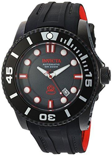 腕時計 インヴィクタ インビクタ プロダイバー メンズ 20205 【送料無料】Invicta Men's Pro Diver Stainless Steel Automatic-self-Wind Diving Watch with Silicone Strap, Black, 25 (Model: 20205)腕時計 インヴィクタ インビクタ プロダイバー メンズ 20205