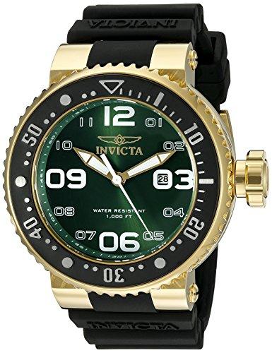 """インヴィクタ インビクタ プロダイバー 腕時計 メンズ 21523 【送料無料】Invicta Men""""s 21523 Pro Diver Analog Display Japanese Quartz Black Watchインヴィクタ インビクタ プロダイバー 腕時計 メンズ 21523"""
