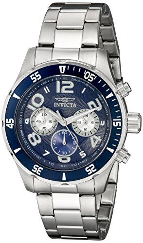 インヴィクタ インビクタ プロダイバー 腕時計 メンズ 12911 【送料無料】Invicta Men's 12911 Pro Diver Chronograph Dark Blue Textured Dial Stainless Steel Watchインヴィクタ インビクタ プロダイバー 腕時計 メンズ 12911