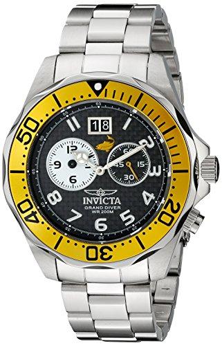 インヴィクタ インビクタ プロダイバー 腕時計 メンズ 14441 Invicta Men's 14441 Pro Diver Black Carbon Fiber Dial Stainless Steel Watchインヴィクタ インビクタ プロダイバー 腕時計 メンズ 14441