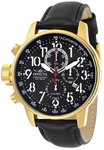 インヴィクタ インビクタ 腕時計 メンズ 【送料無料】Invicta Men's Connection Stainless Steel Quartz Watch with Leather Strap, Black, 22 (Model: 28741)インヴィクタ インビクタ 腕時計 メンズ