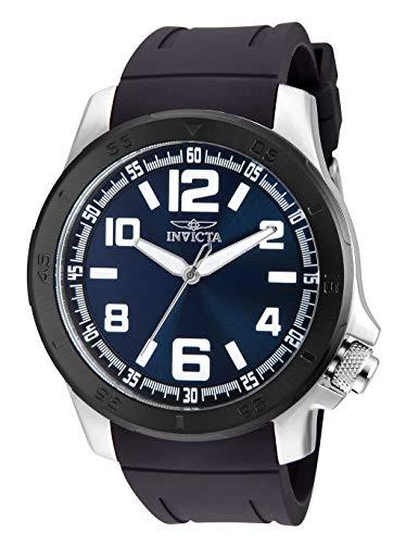 腕時計 インヴィクタ インビクタ メンズ 【送料無料】Invicta Specialty Men 48mm Stainless Steel Stainless Steel Blue dial Quartz, 30703腕時計 インヴィクタ インビクタ メンズ