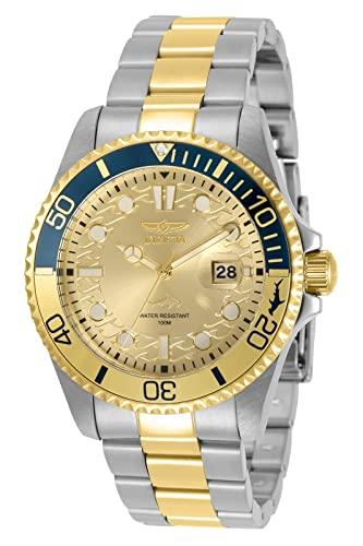 腕時計 インヴィクタ インビクタ メンズ 【送料無料】Invicta Pro Diver Quartz Gold Dial Men's Watch 30948腕時計 インヴィクタ インビクタ メンズ