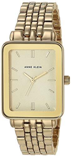 アンクライン 腕時計 レディース 【送料無料】Anne Klein Women's Gold-Tone Bracelet Watch with Rectangular Case, AK/3614アンクライン 腕時計 レディース