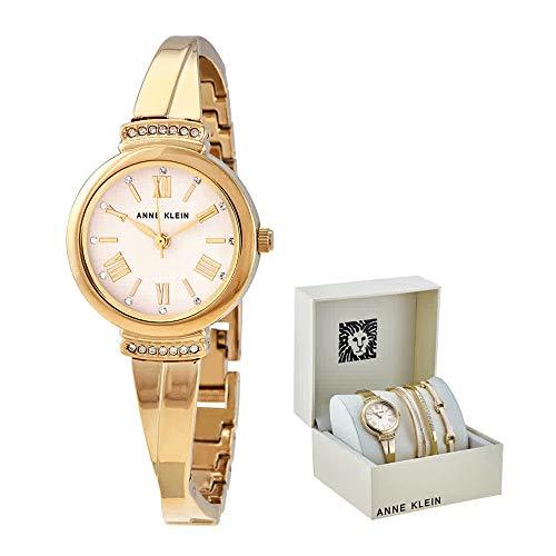 アンクライン 腕時計 レディース 【送料無料】Anne Klein Blush Dial Ladies Watch and Bracelet Set AK/3414BHSTアンクライン 腕時計 レディース