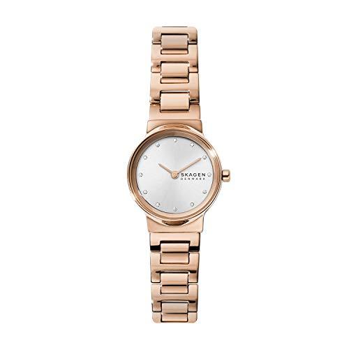 スカーゲン 腕時計 レディース 【送料無料】Skagen Women's Freja Quartz Watch with Stainless Steel Strap, Rose Gold, 14 (Model: SKW2791)スカーゲン 腕時計 レディース