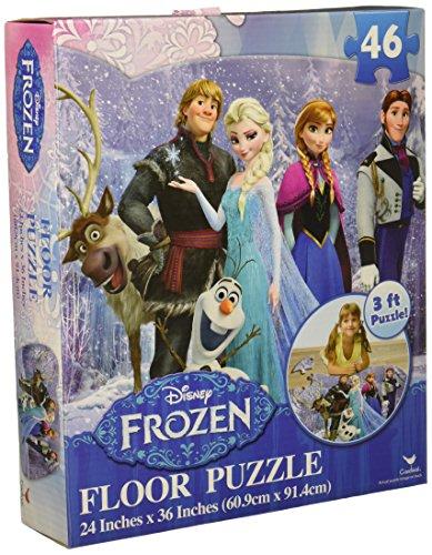アナと雪の女王 アナ雪 ディズニープリンセス フローズン 【送料無料】Disney Frozen Floor Puzzle (46-Piece) 24