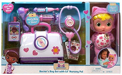 ディズニーチャンネル Set Nursery Playset Rescue ドックはおもちゃドクター ドックのおもちゃびょういん Doctor's Pet ドックはおもちゃドクター Doc Mcstuffin Pal Junior ディズニーチャンネル Bag 【送料無料】Disney ドックのおもちゃびょういん Lil' with