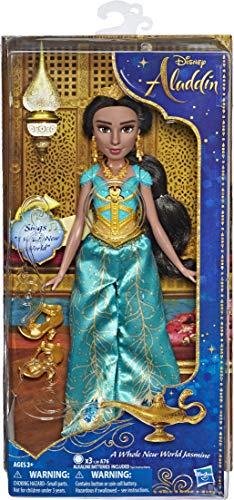 アラジン ジャスミン ディズニープリンセス 【送料無料】Disney Singing Jasmine Doll with Outfit & Accessories, Inspired by Disney's Aladdin Live-Action Movie, Sings A Whole New World, Toy for 3 Year Oldsアラジン ジャスミン ディズニープリンセス
