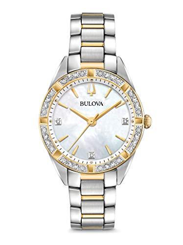 ブローバ 腕時計 レディース 【送料無料】Bulova Womens Analogue Classic Quartz Watch with Stainless Steel Strap 98R263ブローバ 腕時計 レディース