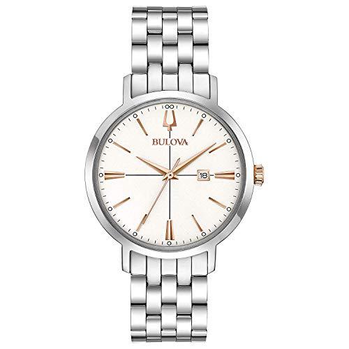 腕時計 ブローバ レディース 【送料無料】Bulova Womens Analogue Quartz Watch with Stainless Steel Strap 98M130腕時計 ブローバ レディース