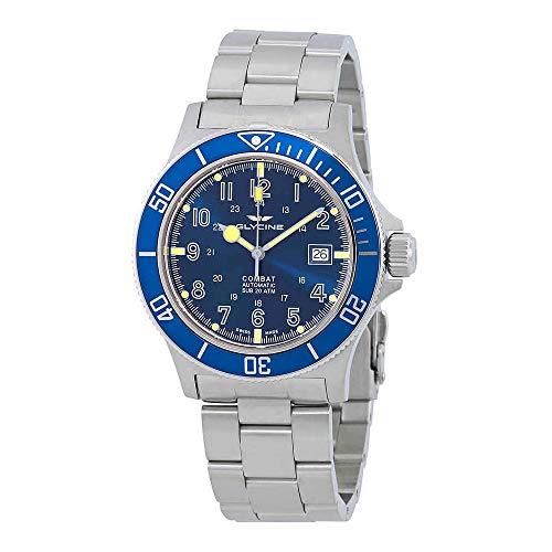 腕時計 グリシン スイスウォッチ メンズ グライシン 【送料無料】Glycine Combat Sub Automatic Blue Dial Men's Watch GL0077腕時計 グリシン スイスウォッチ メンズ グライシン