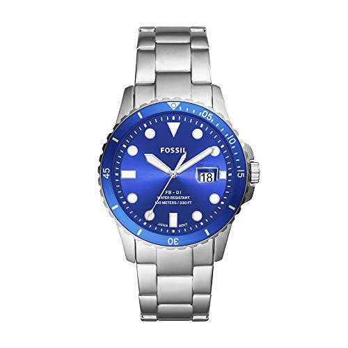フォッシル メンズ 【送料無料】Fossil メンズ Silver, Strap, 22 Stainless (Model: FB-01 FS5669)腕時計 with 腕時計 Steel Quartz Men's フォッシル Watch