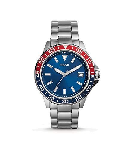 フォッシル 腕時計 メンズ 【送料無料】Fossil BQ2505 Bannon Date Stainless Steel Watchフォッシル 腕時計 メンズ