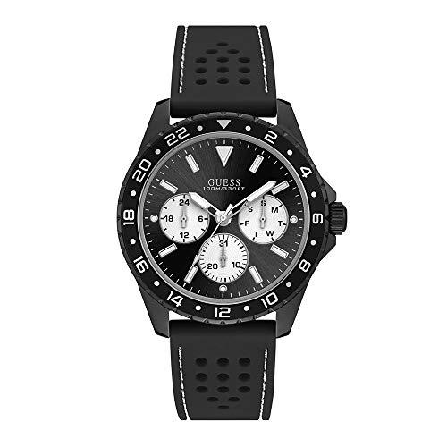 腕時計 ゲス GUESS メンズ 【送料無料】Guess Men's Analogue Quartz Watch with Silicone Strap W1108G3腕時計 ゲス GUESS メンズ