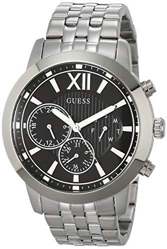 2021人気特価 腕時計 ゲス GUESS メンズ 【送料無料】GUESS Men's Analog Watch with Stainless Steel Strap, Silver, 24 (Model: GW0068G1)腕時計 ゲス GUESS メンズ, ZeeShop 5a14b132