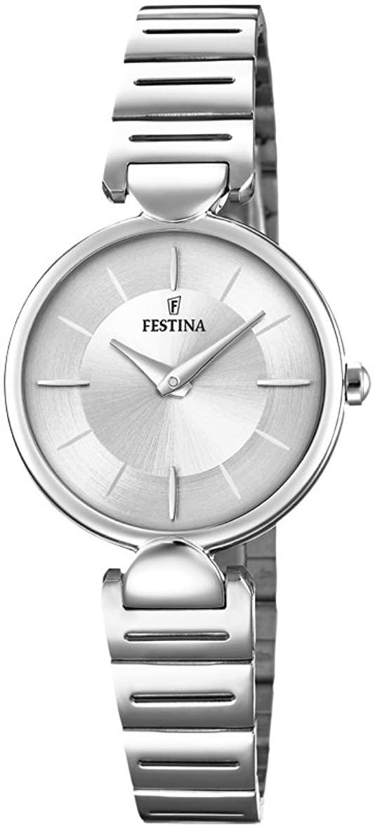 フェスティナ フェスティーナ スイス 腕時計 メンズ 【送料無料】Festina Men's Autumn-Winter 17 Quartz Watch with Stainless Steel Strap, Silver, 13 (Model: F20319/1)フェスティナ フェスティーナ スイス 腕時計 メンズ