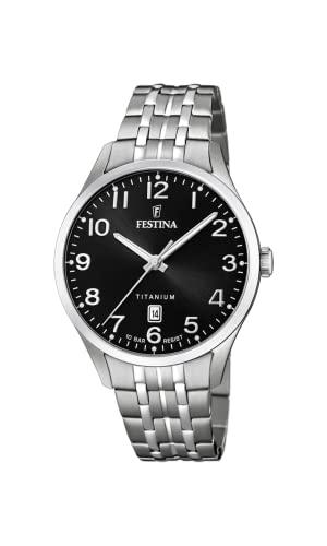 フェスティナ フェスティーナ スイス 腕時計 メンズ 【送料無料】Festina Men's Quartz Watch with Titanium Strap, Silver, 22 (Model: F20466/3)フェスティナ フェスティーナ スイス 腕時計 メンズ