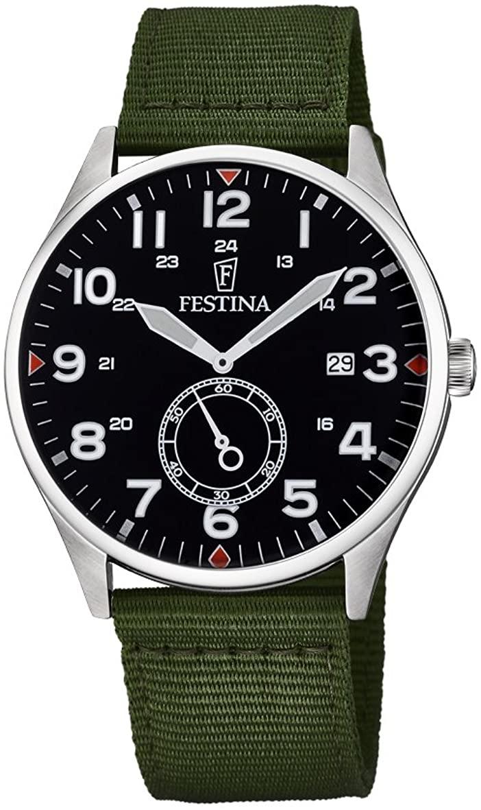 フェスティナ フェスティーナ スイス 腕時計 メンズ 【送料無料】Festina Men's Digital Quartz Watch with Nylon Strap F6859/1フェスティナ フェスティーナ スイス 腕時計 メンズ