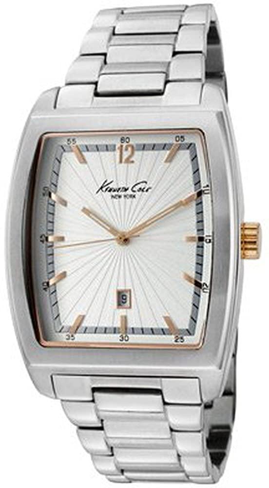 腕時計 ケネスコール・ニューヨーク Kenneth Cole New York メンズ 【送料無料】Kenneth Cole New York Bracelet Silver Dial Men's watch #KC9068腕時計 ケネスコール・ニューヨーク Kenneth Cole New York メンズ